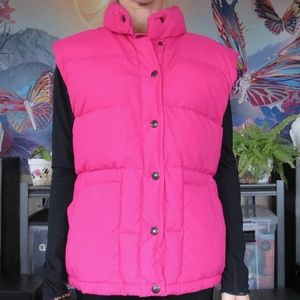 North Face Down Puffer Vest 'Purple Label'